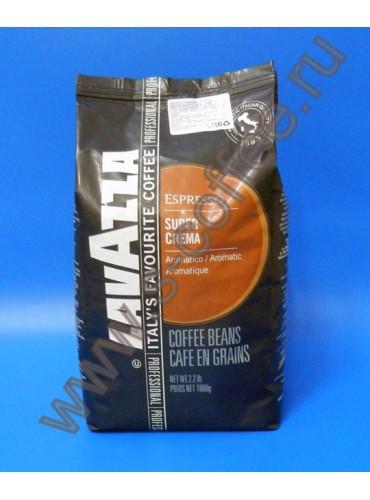 130018 Кофе в зёрнах Lavazza Super Crema 1 кг. (специальная цена)