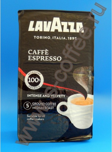 300023 Кофе молотый Lavazza Espresso 250 гр. (вакуумная упаковка)
