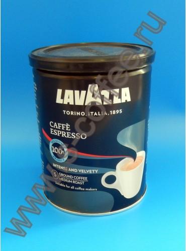 550022 Кофе молотый Lavazza Espresso 250 гр. (жестяная банка)