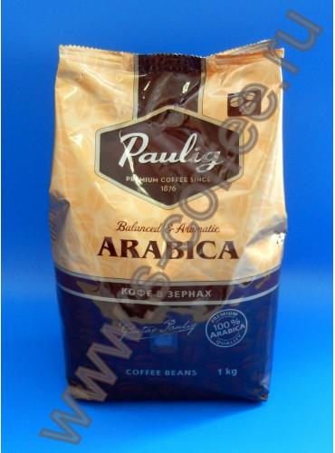 780018 Кофе в зернах Paulig Arabica 1 кг.
