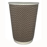 310060 Стакан для горячих напитков 2-х слойный гофрокартон 350 мл (25 шт./уп.)