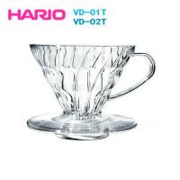 001738 Воронка для пуровера VD-01T, прозрачная, Hario