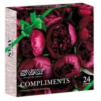 190334 Чай Svay Compliments (пион) 4 вкуса 24 пирамидки