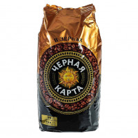 230028 Кофе в зёрнах  Черная Карта, 1 кг.