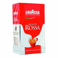 310022 Кофе молотый Lavazza Rossa 250 гр. (вакуумная упаковка)