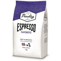 770019 Кофе в зернах Paulig Espresso Favorito 1 кг.