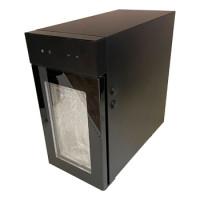 000169 Холодильник для молока Dr.Coffee, прозрачная дверь