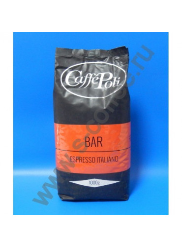 850028 Кофе в зёрнах Caffe Poli Bar 1 кг.