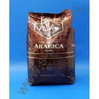 460023 Кофе в зернах Paulig Arabica Dark 1 кг.