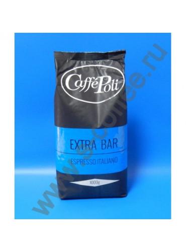 860010 Кофе в зёрнах Caffe Poli Extrabar 1 кг.
