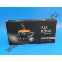 001998 Кофе в капсулах Alta Roma Platino, формат Nespresso,10 шт. в упаковке