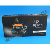 001981 Кофе в капсулах Alta Roma Nero, формат Nespresso, 10 шт. в упаковке