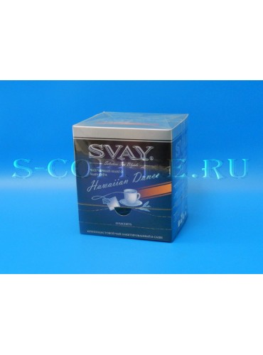 044114 Чай Svay чёрный манго, маракуйя 20*2 гр.