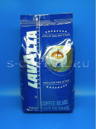150016 Кофе в зёрнах Lavazza Gold Selection 1 кг. (специальная цена)