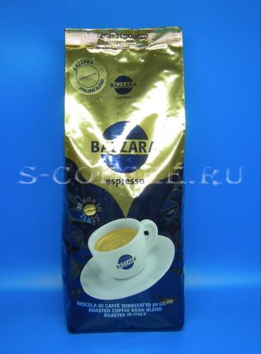 640015 Кофе в зёрнах Bazzara Aromamore 1 кг.