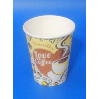 "440023 Стакан для горячих напитков ""COFFEE"" 250 мл. (80 шт./уп.)"