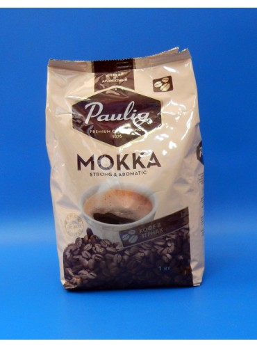 470015 Кофе в зернах Paulig Mokka 1 кг.