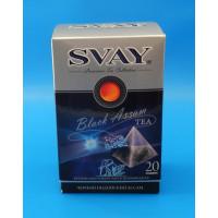 047368 Чай Svay чёрный индийский 20*2.5 гр.