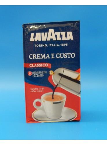 330013 Кофе молотый Lavazza Crema e Gusto 250 гр. (вакуумная упаковка)