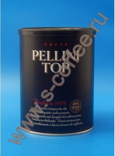 150023 Кофе молотый Pellini Top 250 гр. (жестяная банка)
