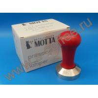 000632 Темпер Мотта нерж.сталь красный 53 мм. (плоский)