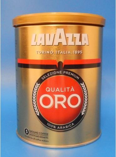 320020 Кофе молотый Lavazza Oro 250 гр. (жестяная банка)