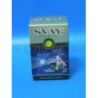 044046 Чай Svay бирюзовый улун с мятой 20*2 гр.