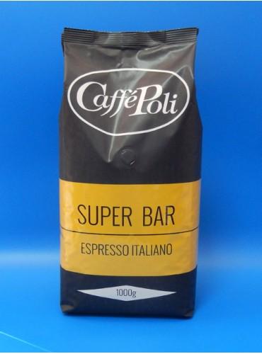 930010 Кофе в зёрнах Poli Superbar 1 кг.