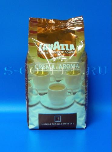 370016 Кофе в зёрнах Lavazza Crema e Aroma 1 кг. (специальная цена)
