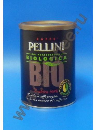 770014 Кофе молотый Pellini Biologica 250 гр. (жестяная банка)