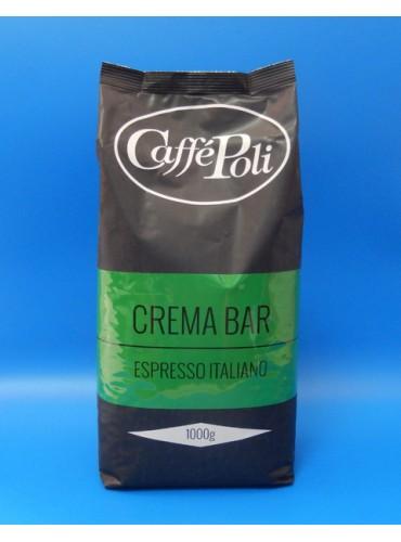 Кофе в зёрнах Poli Crema Bar 3 кг. + кофемашина