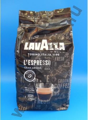 230027Кофе в зёрнах Lavazza Gran Aroma Bar 1 кг. (специальная цена)