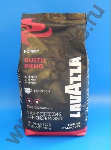 510049 Кофе в зёрнах Lavazza Gusto Pieno 1 кг. (специальная цена)