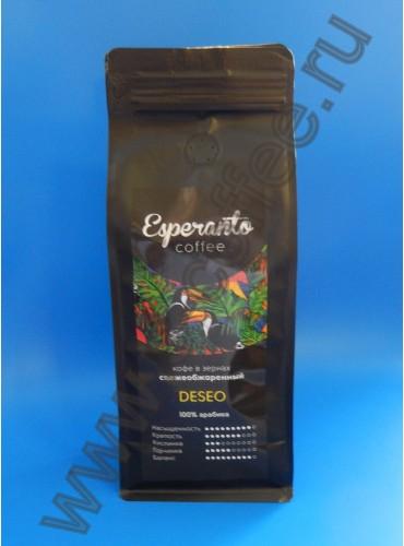180026 Кофе в зернах Esperanto DESEO, 500 гр.