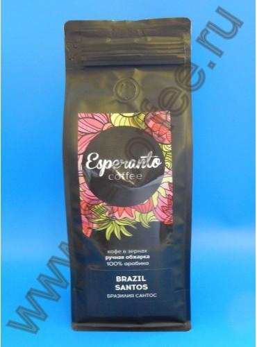 280033 Кофе в зернах Esperanto Бразилия Сантос 500 гр