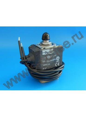 1120349 Электромагнитный  клапан PARKER YB09 230В трехходовой