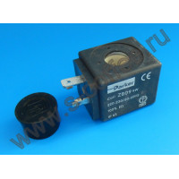 3120032 Катушка электромагнитного клапана PARKER ZB09 230В, 9Вт, D14 мм.