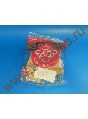 001769 Фильтры для воронки, бумажный, 100 шт, Hario